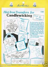 Aunt Martha's Hot Iron Transfers for Candlewicking #C920