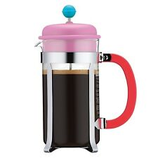 Genuine Bodum 34oz French Press Coffee Maker 8 Cup Pink A1918-XYB-70-PK