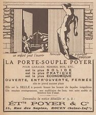 Z8581 Porte-Souple POYER - Pubblicità d'epoca - 1931 Old advertising