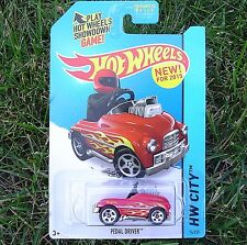 Red PEDAL POWER. 74/250 HW City. CFG87. Surf Patrol. New in Blister Pack!