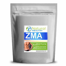 30 ZMA CAPSULES - TESTOSTERONE TEST BOOSTER - MUSCLE GROWTH & STRENGTH - ZINC