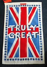 New EMMA BRIDGEWATER Truly Great Tea Towel Union Jack NWT