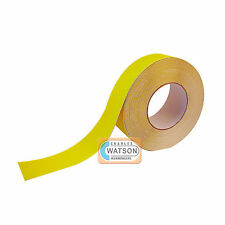 25mm x 1m Yellow ANTI SLIP TAPE High Grip Adhesive Backed Non Slip Safety