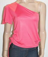 Starlet Designer Coral Sweet Pea One Shoulder Casual Top Size M BNWT #TA66