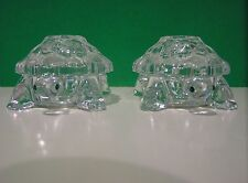 "LENOX ""The SPARKLING CRYSTAL TURTLE SALT and PEPPER Set"" NIB"