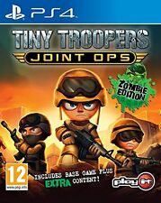Tiny Troopers Joint Ops PS4 Zombie Edition Cover uk con ITALIANO