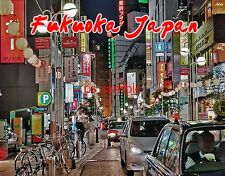 Japan - FUKUOKA - Travel Souvenir Fridge MAGNET