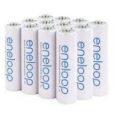 12x Panasonic Eneloop Rechargeable AA Battery BK-3MCCE 2000mAh (min. 1900mAh)