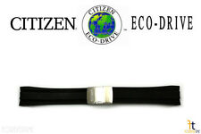 Citizen Eco-Drive Original AT4008-01E 24mm Black Rubber Watch Band AT4005-09E