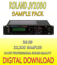 ROLAND JV-2080 SAMPLES NATIVE INSTRUMENTS KONTAKT,  NKI + WAV FORMATS - DOWNLOAD