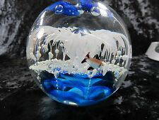 "Large Swarovski Inspired 6.5"" Multi color Crystal Sphere Sea Ball"