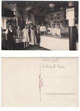 Husen bei Dortmund, Lebensmittelgeschäft Weinhandlung, originales Foto um 1915
