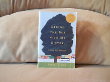 Riding the Bus with My Sister: A True Life Journey By Rachel Simon FREE SHIPPING