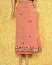 Vintage Barbie 0874 Arabian Nights 1964 Little Theatre Pink Chiffon Skirt EXCLNT