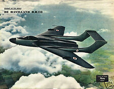 DE HAVILLAND DH 11- SEA VIXEN: FACSIMILE OF '56  FEATURE INCL COL PLATE TO FRAME