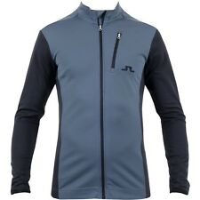 NEW AW15 J LINDEBERG GOLF MID JACKET TX THERMAL DK GREY SIZE: M