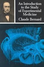 Dover Books on Biology: Introduction to the Study of Experimental Medicine by...