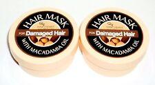 2  HAIR CHEMIST Hair Mask With Macadamia Oil For DAMAGED HAIR 2 oz/57g each