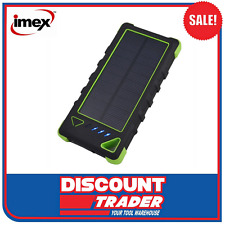 Imex Industrial iPower 160 Solar Power Bank iPhone Charger - IPB160