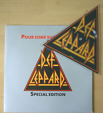 Def Leppard - Pour Some Sugar On Me UK SHAPED VINYL PICTURE DISC! (LEPS2) EX!