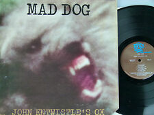 John Entwistle's Ox (Who-Bassist) -Mad Dog  Beilage  US-1975 Track MCA 2129 cut.
