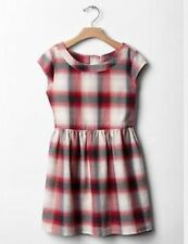 GAP Kids Girls Fit & Flare Plaid Flannel Dress XL 12 Holiday Christmas NWT $40