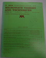 IEEE Microwave Theory And Techniques Magazine Anisotropic September 1979 071315R