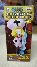 ONE PIECE WCF FILM GOLD Vol. 3 KIRUKO FIGURA FIGURE 21 NEW NUEVA