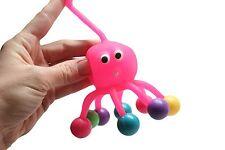 Clanking Octopus Yo Yo Ball - Sensory Toy - Office fidget favor