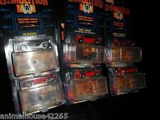 6 CAR LOT 1993 Hot Wheels Demolition Man S.A.P.D. Ultralite Corvette Wild Cat +
