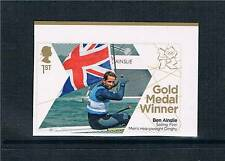 GB 2012 OLYMPIC GOLD MEDAL SAILING BEN AINSLEY 1V S/ADH
