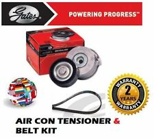 FOR SUZUKI SX4 1.6 VVTi 06/2006-12/2012 AIR CON TENSIONER BEARING PULLEY & BELT