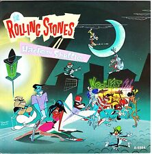 """THE ROLLING STONES : Harlem Shuffle 7"""" with side figures CBS CBSA 6864"""