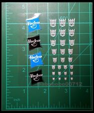 New Decepticons Symbol hollow Hasbro mini stickers for toy transformers instock