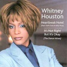 Heartbreak Hotel [Maxi Single] by Whitney Houston (CD, Jan-1999, Arista)b353