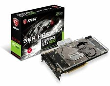 MSI GeForce GTX 1080 DirectX 12 GTX 1080 SEA HAWK EK X 8GB 256-Bit