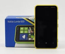 USED - Nokia Lumia 620 Yellow (FACTORY UNLOCKED) 3.8 inch , 8GB , 5MP
