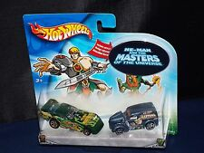 Hot Wheels 2 Pack He-Man And The Masters Of The Universe Funny Car Anglia Panel