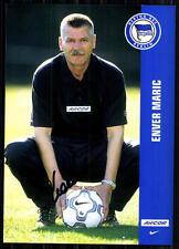 Enver Maric Hertha BSC Berlin 2001-02 2.Satz Original Signiert + A 84369