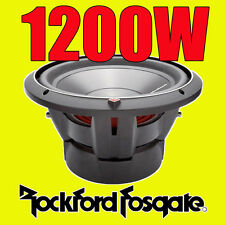 "Rockford Fosgate 12"" 12 pouces 1200W voiture audio Punch bass sub subwoofer P3D212"