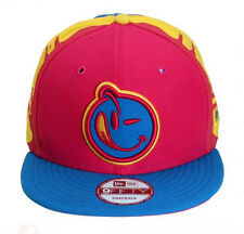 NEW Authentic YUMS New Era Black Tag 4 0 to 100 Blue/Pink/Yellow Snapback 58BT