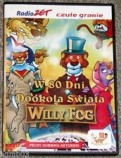 4 POLSKIE FILMY DLA DZIECI LASSIE W 80 DNI DOKOLA SWIATA PINGWINY SONIC POGON