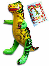 INFLATABLE  BLOW UP DINOSAUR BOYS GIRLS POOL TOY GIFT BIRTHDAY PARTY BAG FILLER