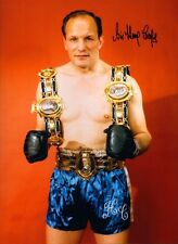 Signed Sir Henry Cooper Boxing Autograph Photo