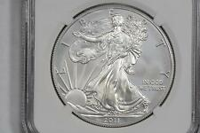 2011-W AMERICAN SILVER EAGLE DOLLAR $1 25TH ANNIVERSARY EARLY RELEASES NGC MS69