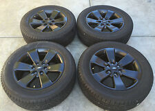 "20"" F150 BLACK OUT 2004-2016 FORD F-150 FACTORY OEM 20"" BLACK WHEELS & TIRES"