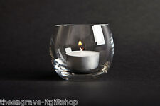 Personalised Barrel Crystal Glass Tea light Holder Gift  Boxed (Tealight inc)