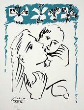 Pablo Picasso Madres del mundo - Edicion limitada - Numerada a mano - SPADEM