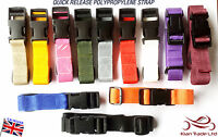 "25mm Adjustable Webbing Belt (1"") any colour Quick Release"
