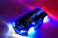RC LED Light set for Traxxas Fiesta Rally Ken Block LaTrax Universal  Mount #3